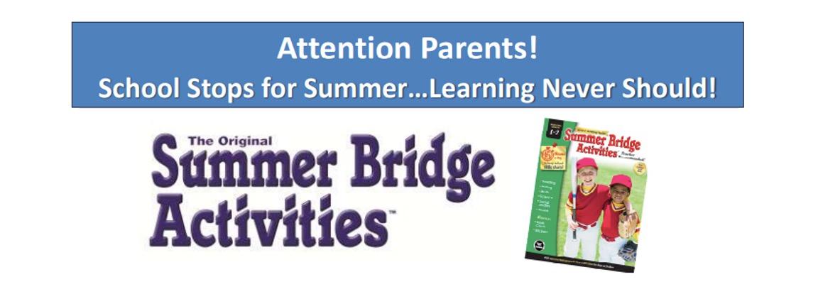 Summer Workbooks