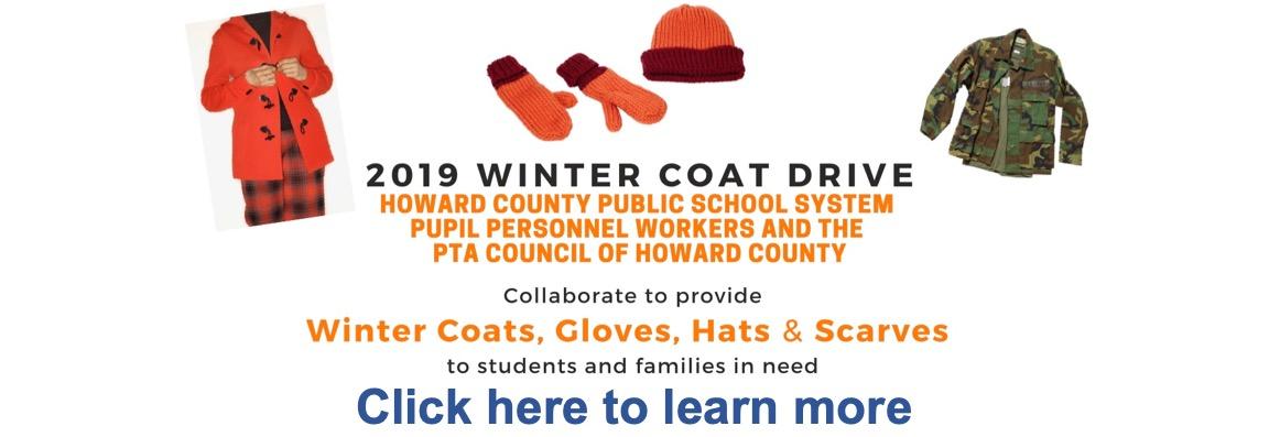 coat drive banner